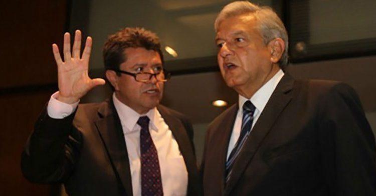 El senador Ricardo Monreal Ávila advirtió que habrá en Morena una ruptura si se impone al candidato a la Presidencia en 2024