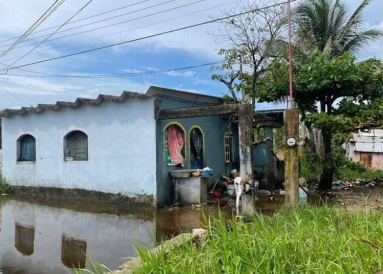 Los hechos se registraron en una vivienda localizada en la esquina de la calle Juan Escutia y Avenida del Trabajo de la colonia Santa Rosa de Coatzacoalcos.