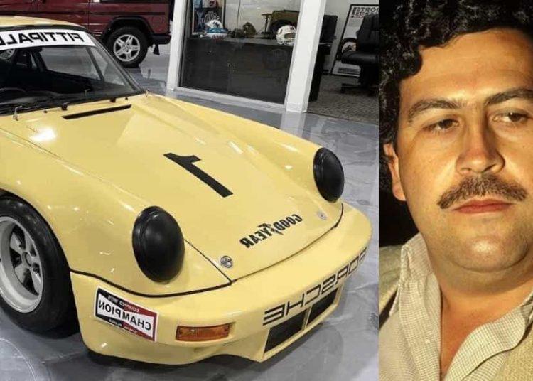 Pablo Escobar fue el dueño del auto hasta su muerte en 1993.