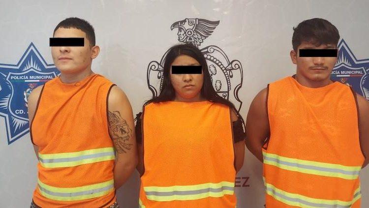 Cuatro personas fueron detenidas por privar de la libertad a un hombre para obligarlo a unirse a su célula criminal, entre ellos hay un menor de edad.