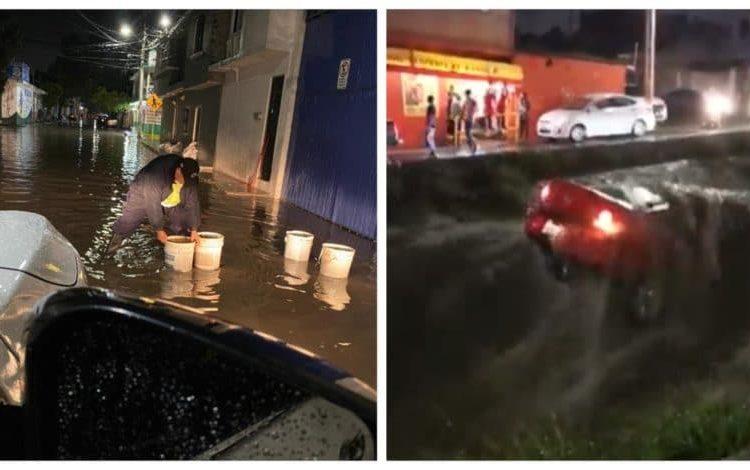 La noche del sábado se registraron fuertes lluvias en diferentes puntos de la capital queretana, mismas que dejaron graves afectaciones.
