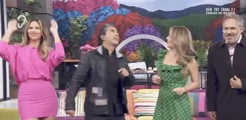 """La presentadora que está participando en """"Las estrellas bailan en HOY"""" causó revuelo entre los televidentes."""