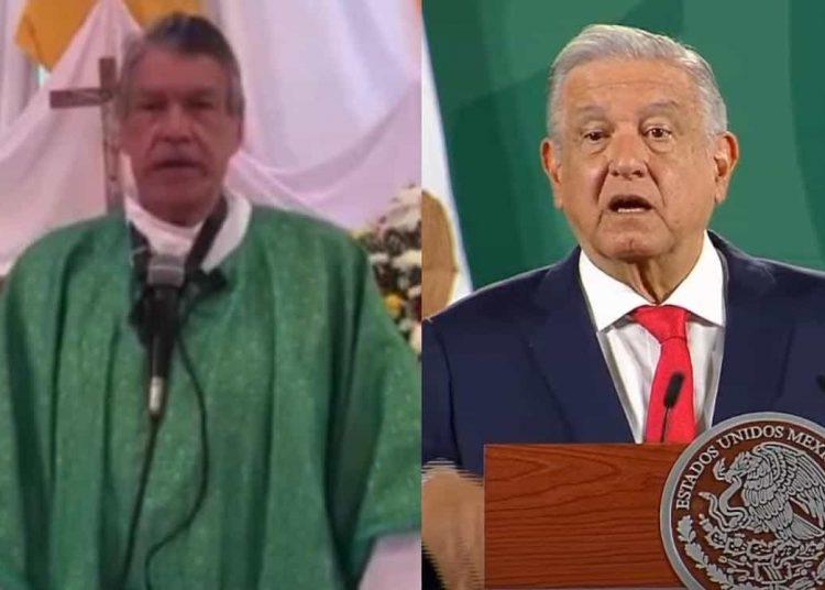 La crítica del párroco Alfredo Gallegos tuvo que ver con las declaraciones emitidas en contra de Morena por parte de Juan Sandoval Iñiguez.