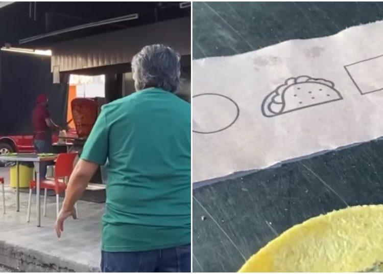 """La taquería 'Takesabroso' se viralizó por lanzar el """"Juego de a tragar"""" con retos inspirados en la famosa serie """"El Juego del Calamar""""."""