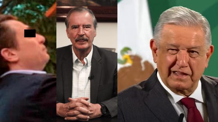 'A López le vale ma…': Fox amanece enojado con AMLO por fotos de Emilio Lozoya